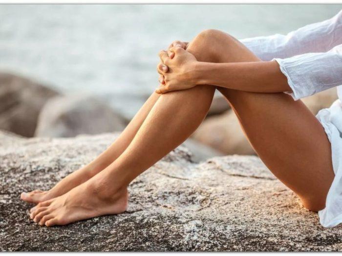 Снять отек ног от сидячей работы, долгого сидения