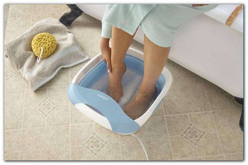 Лечебные ванночки в устранении отеков на ногах